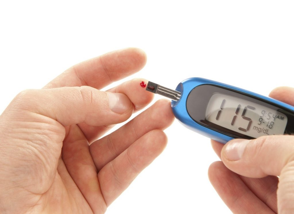 Effect of diabetes on the human body
